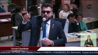 """ALEPA – Deputado afirma que colegas """"recebem mil reais por dia para alimentação"""" e chama imprensa de """"comprada"""""""