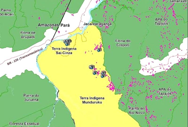 Quem vazou operação do Ibama para fechar garimpos ilegais em terras dos munduruku?